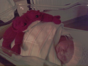 'Crabby' baby