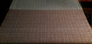 9 yards of mosaic brown